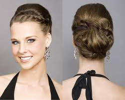 simple hairstyles for a wedding guest