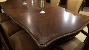 michael amini dining room imperial court rectangular leg dining table by michael amini