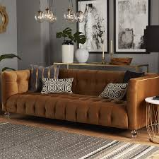 Sofas Chesterfield Style Willa Arlo Interiors Pernilla Velvet Chesterfield Sofa Reviews