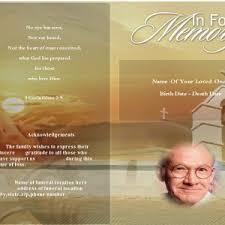 Funeral Program Maker Funeral Program Template For Funeral Program Edit And Get Pdf Online