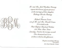 Wedding Quotations For Invitation Cards Wedding Invitation Letter Sample Wording Plus Size Mother Bride