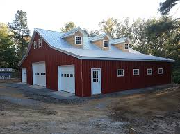 garages with living quarters virginia barn company pole barn builder va residential
