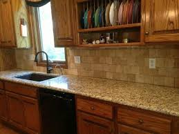 kitchen granite and backsplash ideas kitchen santa cecilia granite countertops with backsplash