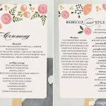 simple wedding program wording wedding ceremony program photo wedding program exles