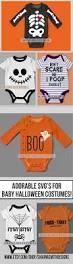 cute halloween onesie svg files halloween costumes for babies