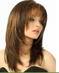 medium length hairstyles front and back with bangs medium hairstyles with bangs for fine hair wispy medium