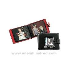 wallet size photo album soft cowhide leather mini brag book photo wallet wholesale