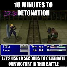Final Fantasy Memes - video game humor final fantasy vii video games pinterest