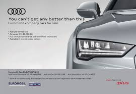 audi authorised dealer ad audi approved em plus em promotion at euromobil this