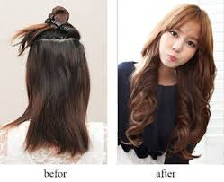 curly hair extensions clip in synthetic clip in hair extensions on sales quality synthetic