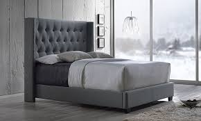 Studded Bed Frame Container Door Studded Quilted Bed Frame 2