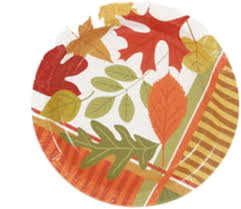 disposable thanksgiving dinnerware collection on ebay