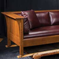 Stickley Mission Sofa by The Furniture Shoppe