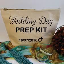 Bridal Makeup Bags Wedding Day Prep Kit Custom Makeup Bag With Date Bridal Cosmetic