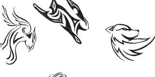 top 35 tribal tattoos for drawing designs