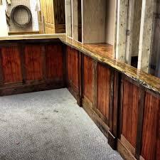 timelapse woodworking bubinga live edge chair rail u0026 bar stool