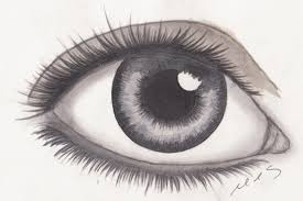 drawing of an eye tutorial how to draw shade a eye
