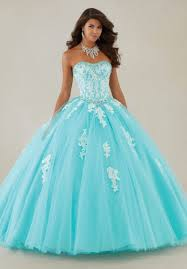 new crystal light blue quinceanera ball gown wedding dresses