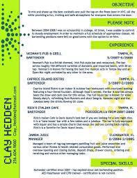 Job Description For Bartender On Resume examples of bartending resumes bartending resume template resume