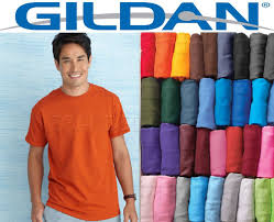 100 gildan t shirt blank bulk lot colors 50 mix match white plain