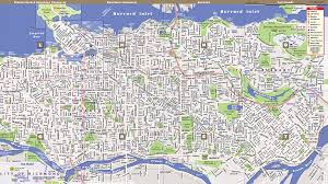 Map Of Vancouver Canada Vandam Maps Image Gallery