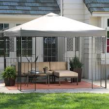 Patio Gazebo 10 X 10 by Amazon Com Coral Coast Garden Bloom 10 X 10 Ft Gazebo Canopy