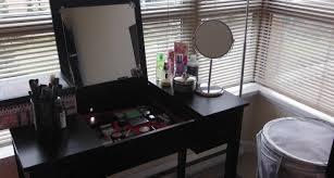 Bedroom Makeup Vanity Ideas Inspiring Makeup Vanity Table Storage Unit For Lear In Makeup