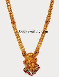gold haram sets gold haram vaddanam gold weight 38 grams necklace length with