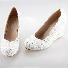 wedding shoes for the best 25 wedge wedding shoes ideas on wedding wedge