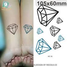 buy diamond tattoo designs and get free shipping on aliexpress com