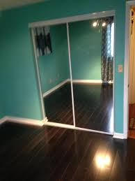 complete installation of laminate flooring mirror closet