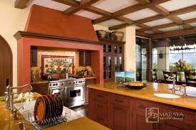 Mediterranean Kitchen - spanish revival kitchen with malibu tile mediterranean kitchen