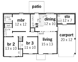 small ranch floor plans small ranch style home floor plans home deco plans