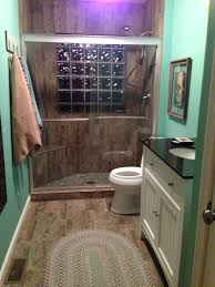 porcelain tile that looks like old barn wood on the floor and