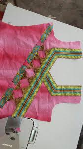 dress neck design saree blouse pinterest blouse designs