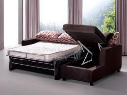 Sectional Sleepers Sofas Living Room Sectional Sleeper Sofa Brown Fabric Modern