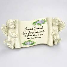 special grandad graveside memorial scroll plaque ornament grave