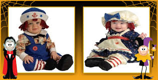 Raggedy Ann Halloween Costume Baby Infant Raggedy Ann Andy Costumes Halloween
