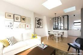 decoration salon cuisine deco salon bois et blanc deco cuisine blanc et bois trendy salon