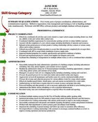 ideas collection sample of resume skills and abilities for your