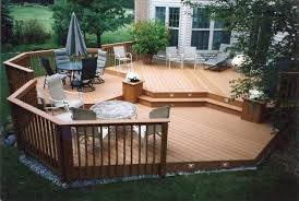 Deck And Patio Design by Brilliant Wood Patio Ideas Designs Design Top 5 Considerations