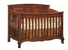 Cribs Convert To Toddler Bed Amish Baby Crib Solid Wood Nursery Furniture Conversion Toddler