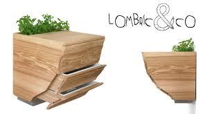 composteur cuisine un composteur design dans sa cuisine le déco mon intérieur