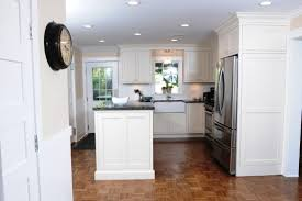 kitchen small galley with island floor plans tray ceiling closet