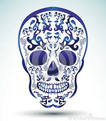 of the dead skull skull
