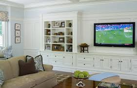 Built In Shelves Living Room Built In Cabinets Transitional Living Room Alisberg Parker Inside