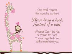 book instead of card baby shower poem poem i made for my daughters baby shower invitations other