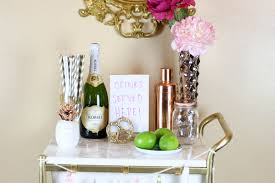 ikea hack gold u0026 marble bar cart twinspiration