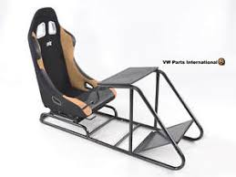 siege baquet gaming gaming racing simulateur cadre chaise siège baquet pour