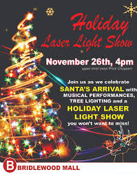 Christmas Laser Light Show Holiday Laser Light Show Bridlewood Mall 2900 Warden Ave